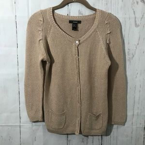 3/$15 MANGO Cardigan Sweater Button Front